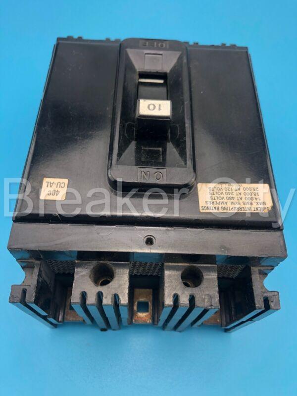 Federal Pacific / FPE NEF433010 10 Amp 3 Pole Type NEF 480V Circuit Breaker