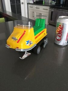 Vintage TIN TOY Skidoo - Made in Japan