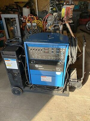 Miller Aerowave Cc-acdc Tig Welder W Cart And Cooler......
