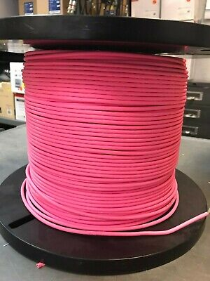 Mini-6 , UTP Patch Cord Cable 28AWG, 900ft new Pink Pink Patch Cord