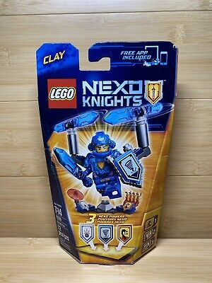 Brand New Sealed LEGO Nexo Knights 70330 Ultimate Clay