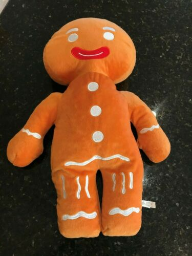 "Toy Factory Dreamworks 22"" Plush GINGY Gingerbread Man SHREK Large Big Stuffed"