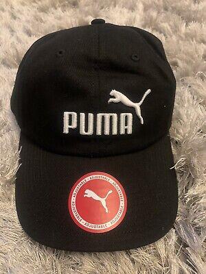 Puma No1 Logo Cap Sn00 ~ Black ~ Uk Adult