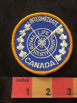 Vtg INTERMEDIATE ROYAL LIFE SAVING SOCIETY Canada Patch (Swim / Lifeguard) 00XC