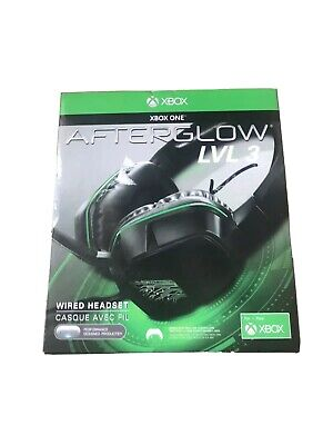 PDP Afterglow LVL 3 Stereo Gaming Headset Xbox One Black