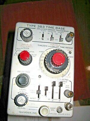 Tektronix Type 3b3 Time Base