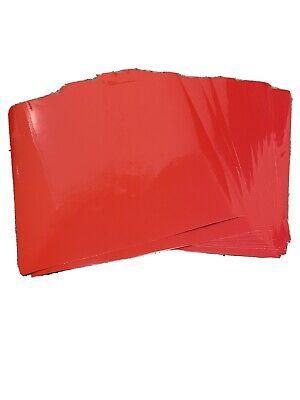Vinyl Cricut Oracal High Performance Cast 751 5 12x12 Sheets Gloss Red