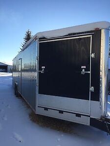 2017 Cynergy 35' enclosed trailer