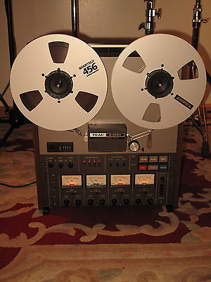 Teac A 3440 4 Track Reel To Reel Recorder/reproducer  1/4 Analog Tape 7.5/15 Ips