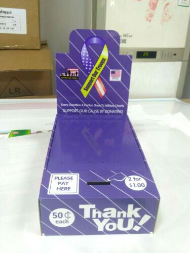 10 Boxes Support Our Troops Military Charity Honor Boxes