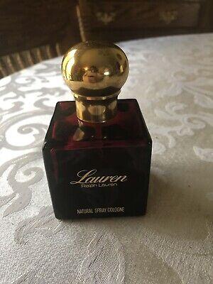 Vintage LAUREN by Ralph Lauren Cosmair Original Eau de Toilette Perfume 4 Oz 50%