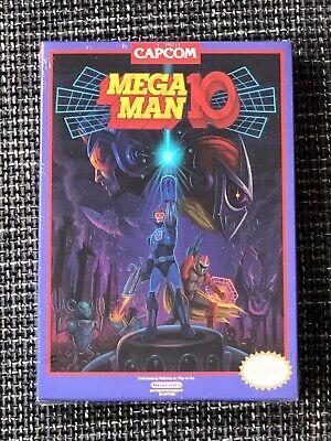 MEGA MAN 10 Press Kit (BRAND NEW & FACTORY SEALED NES) Nintendo...