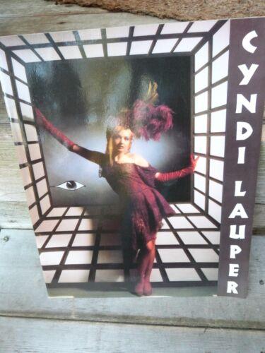 Cyndi Lauper True Colors Japan Tour 86 Concert Program Book