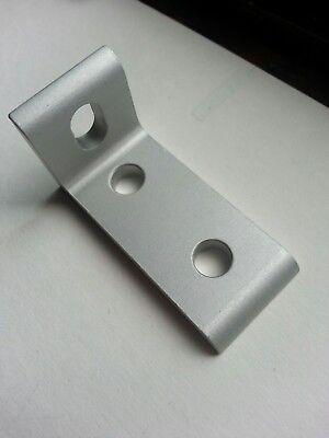 8020 10 Series 3 Hole - Slotted Inside Corner Bracket 4250 New Quantity-2