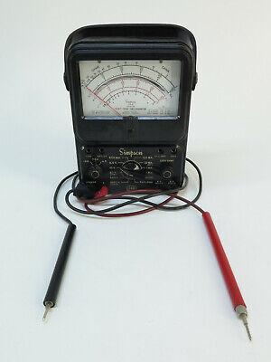 Simpson Model 260 Series 5m Analog Meter Multimeter With Leads