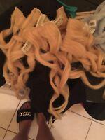 40$ - 100% Real Human Hair ( Clip ins )