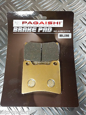 SEMI METAL REAR BRAKE PADS FOR YAMAHA V-MAX 12 93-03 R