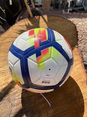 Nike Strike Premier League Ball  Soccer Ball SIZE 4 for Kids 8-12 Ages USED Premier League Soccer Ball