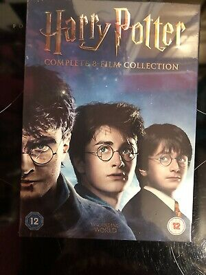 Harry Potter DVD Box Set 1-8 Complete 16 Disc 8 Film Boxset Collection Region 2