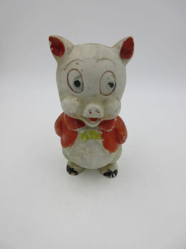vintage PORKY PIG ceramic BANK japan RARE