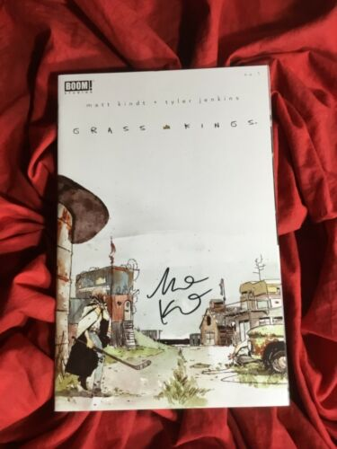 GRASS KINGS #1~1st PRINT~HAND-SIGNED BY MATT KINDT~NEW TV SHOW COMING~BOOM!