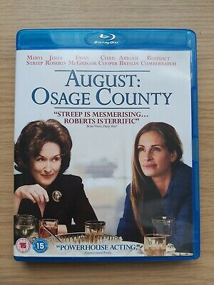 🎬 August Osage County Blu Ray. Meryl Streep Julia Roberts Juliette Lewis🎬