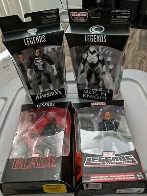 Marvel legends lot Moon Knight Blade Ghost Rider Punisher