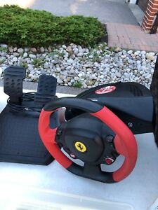 Xbox One - Thrustmaster Steering Wheel and Pedal set