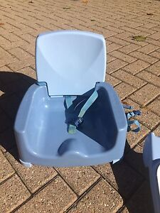 Portable feeding chair $10 - great for travel!