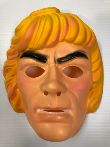 Ben Cooper Mattel Masters of the Universe He-Man Mask New Old Stock Vintage