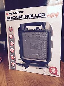 Monster Rockin Roller Mini - Portable Wireless Speaker