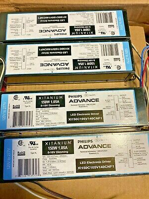 Philips Advance Xi150c105v140cnf1 Xitanium Dimmable Driver- Lot Of 9