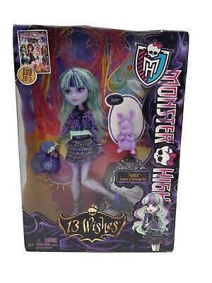 MONSTER HIGH 13 WISHES TWYLA DOLL TOYS R US EXCLUSIVE NEW Distressed Packaging