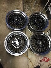 Simmons V5 mag wheels. 15 inch suit Ford Kingsgrove Canterbury Area Preview