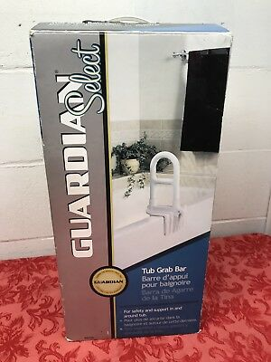GUARDIAN SELECT TUB GRAB BAR - SAFETY HANDLE FOR BATH - NEW -OPEN BOX ()