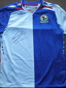 Danny-Murphy-Signed-Blackburn-Rovers-Shirt-Un-Framed-BNWT