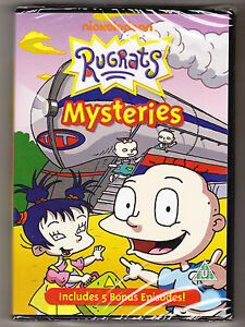 RUGRATS-MYSTERIES-8-ADVENTUROUS-TALES-NEW-AND-SEALED-DVD-104-MINS