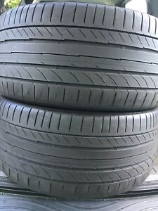2-255/35R19 Continental summer tires