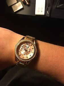 Beautiful Rose Gold Fossil Watch