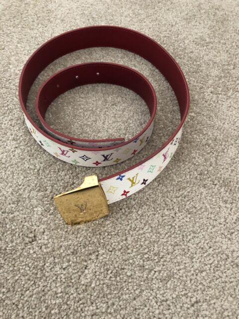 4ac126aa18de Authentic Louis Vuitton Multicolor Monogram Belt Size 85 ...