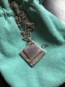 Tiffany Squares Necklace with long chain North Melbourne Melbourne City Preview