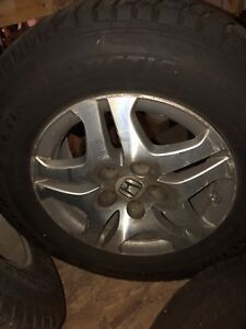 "16"" Honda Odyssey snow tires general tires"