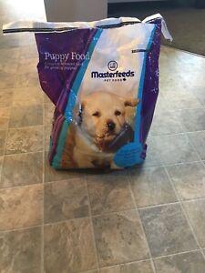 Master Feeds Puppy Food