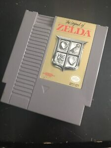 Legend of Zelda Cartridge NES