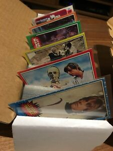 Topps Star Wars, ESB and ROTJ Complete Trading Card Set 1977-83