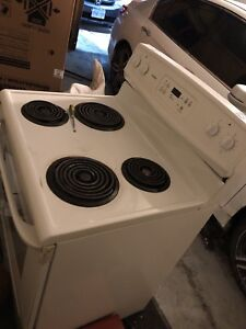Appliances- Kenmore White Stove and Oven