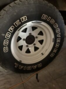 P235/75/r15  set of 4 with rims