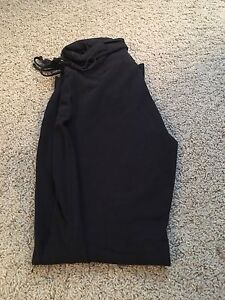 Black yoga maternity pants