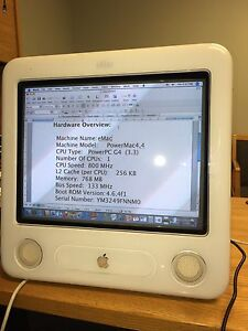 Apple EMac all in one