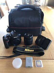 Nikon D3400 24.2MP Digital SLR Camera, 18-55mm Lens Kit + Extras Howrah Clarence Area Preview